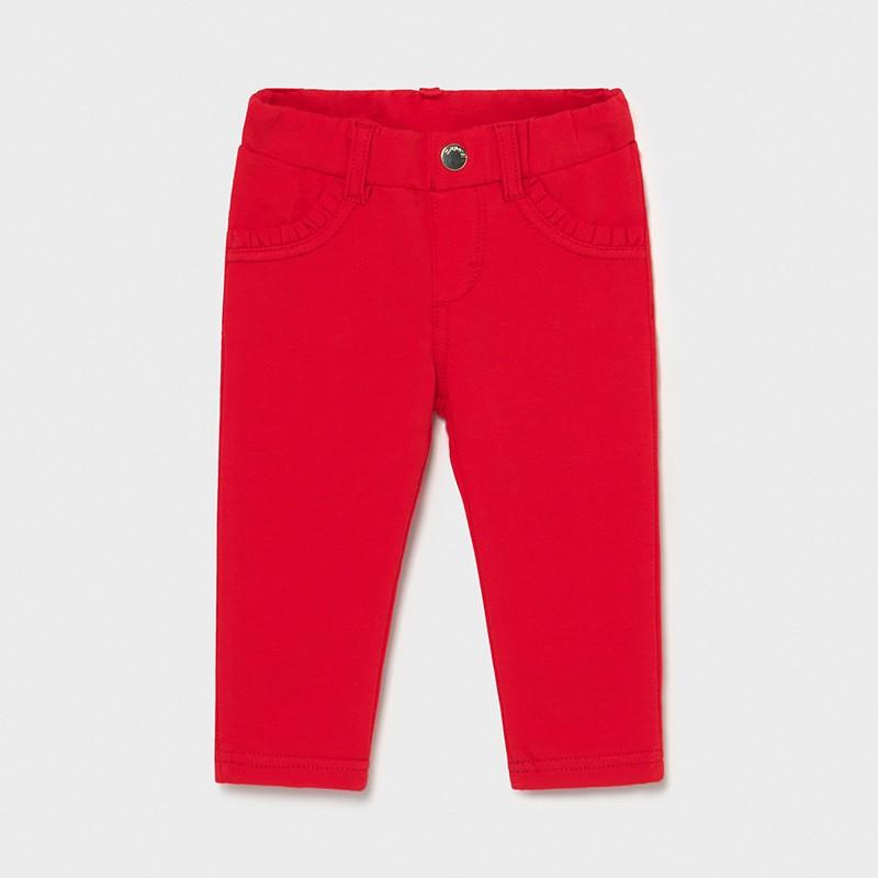 Червоні леггінси для дівчинки Mayoral