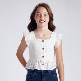 Блуза з люрекосм для дівчинки Mayoral
