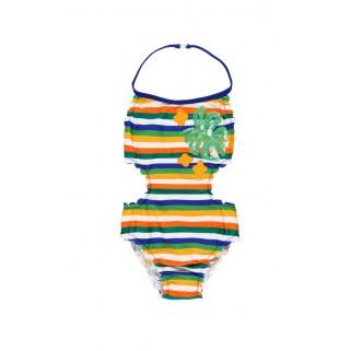 Суцільний купальник в смужку Boboli