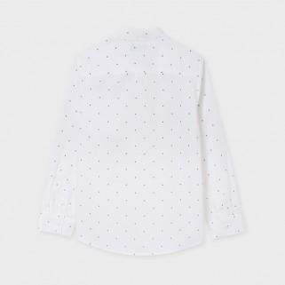 Біла сорочка в крапочку Mayoral