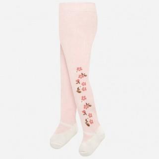 Розовые колготки для девочки