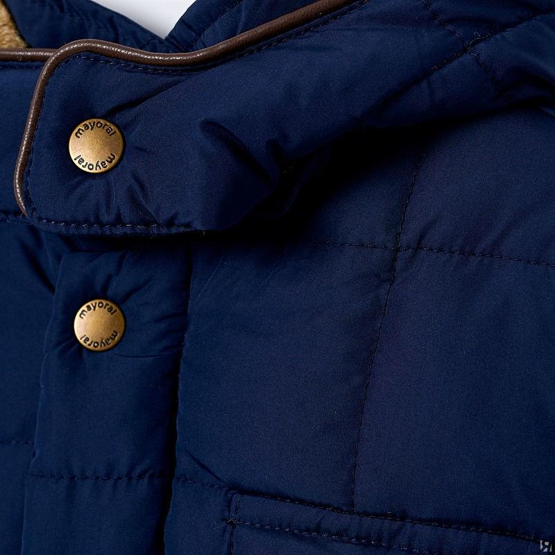 Зимняя стеганная куртка для мальчика Mayoral