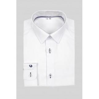 Белая рубашка с длинным рукавом Giamo