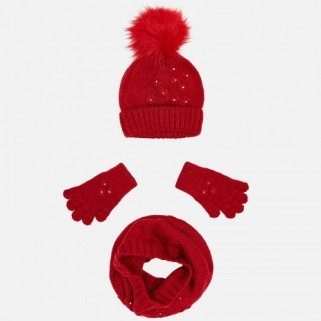Комплект: шапка+снуд+перчатки Mayoral