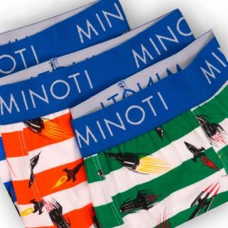 Комплект трусов boxer 3 шт  Minoti