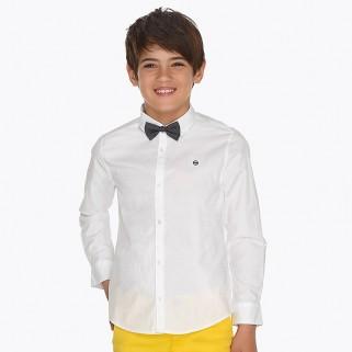 Рубашка с длинным рукавом и галстуком-бабочкой Mayoral