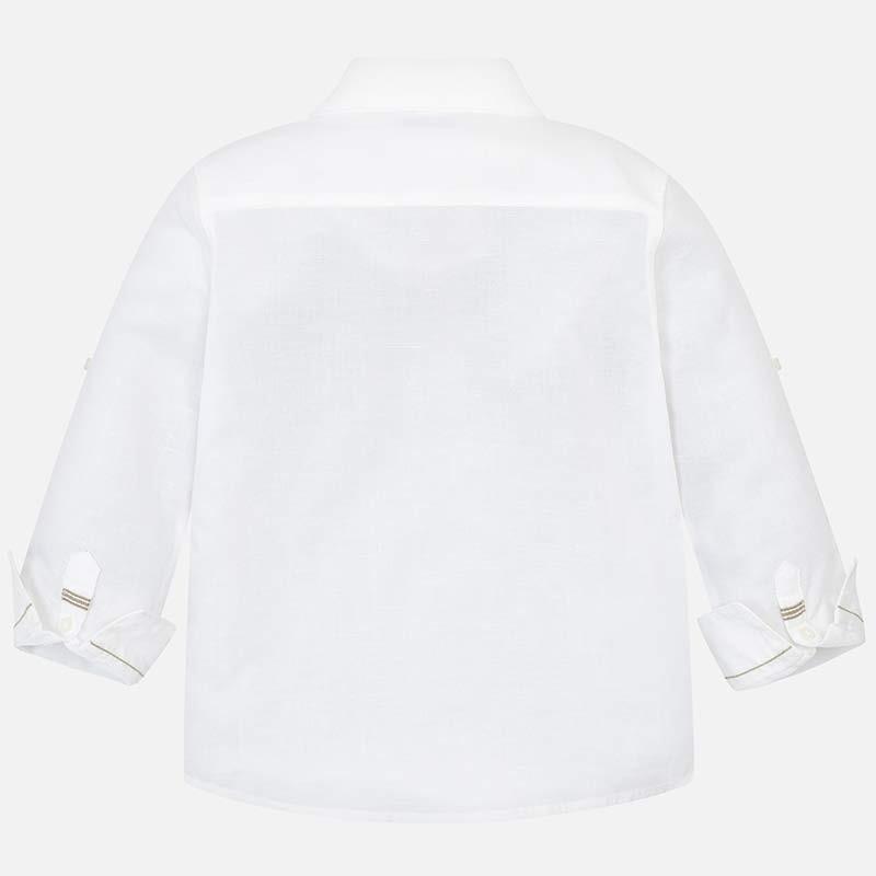 Белая классическая рубашка Mayoral