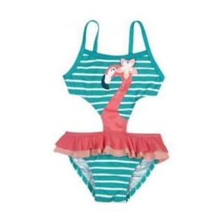 Сдельный купальник с фламинго Boboli